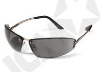 Expert metalbrille nikkelfri, pc linse, SMOKE (førpris 105,-)