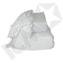 Hvid bomuldslinned i karton (standardkvalitet), 10 kg