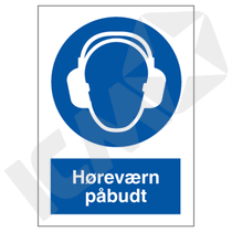 P204 P Høreværn påbudt A4