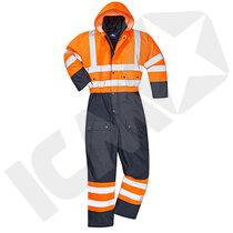 Portwest Termokedeldragt Orange/Marine
