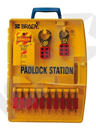Bærbar Station til Lockout/Tagout Låse