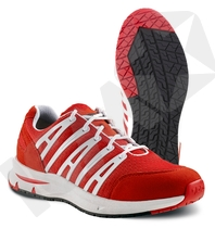 Jalas 5322 SPOC jobsko rød med snøre 01