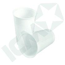 Drikkebæger 21 cl. Hvid, 30x100 stk