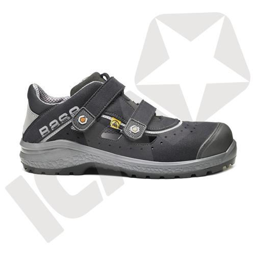 Base Be-Fresh Sandal med Burreluk ESD S1P