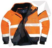 Portwest Pilotjakke Orange/Blå