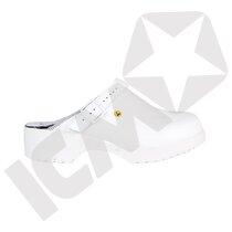 BlueStar EasyStep 100 tøffel m/hælrem hvid