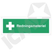 H412VE Redningsmateriel  ½A3