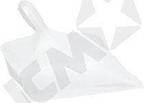 VCL Plastfejebakke u/Gummilæbe hvid 5580