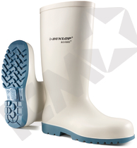 Dunlop Acifort Classic PVC O4 FO SRA Gummistøvle Hvid