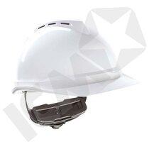 MSA V-Gard 500 Hjelm med Ventilation & Push-Key Indtræk