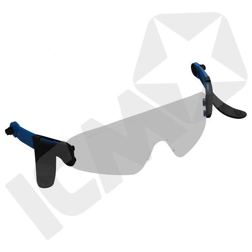 Centurion Nexus Klar Integrerede Brille til Sikkerhedshjelm
