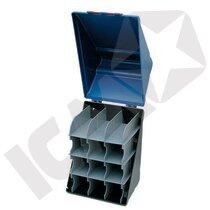 Secu-Box Maxi Blå Opbevaring Til 12 Briller